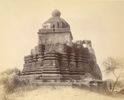 General view of a temple at Garkhed 10032123